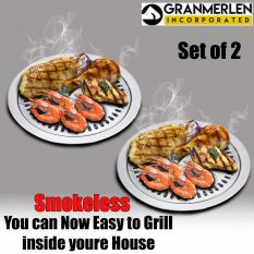 PHP 949. Best Selling Stove top Smokeless Stainless Indoor and Outdoor Barbeque Grill ...