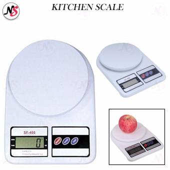 SF-400 Kitchen Scale 7Kg / 1g Convenient Precision Electronic Kitchen Scale SF400 (White)