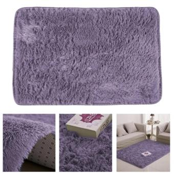 Shaggy Anti-skid Rug Floor Mat Carpet (160x80cm)