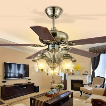 decorative pendant lights. Shifan Fan Pendant Lights 122CM 48Inch  Rope Control Wood Leafs Bronze Decorative Hanging