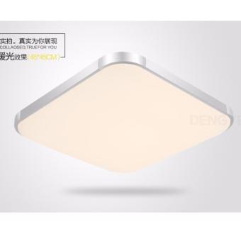 Shifan Modern LED Slim Ceiling Light H6-0801 30*30 Square 12W Living Room / Bedroom / Restaurant Pastoral Lamp Warm Light (2800-3200K)