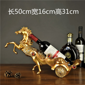 Shishang Home Decorative living room hotel rack resin wine rack