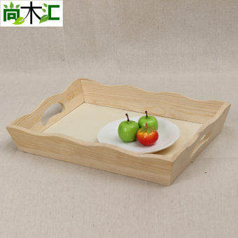 Shishang wooden Wooden Tray dried fruit box dry fruit bowl
