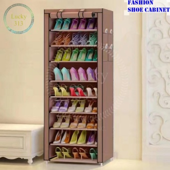 Shoe Cabinet Shoe Rack Organizer (Brown) Price Philippines