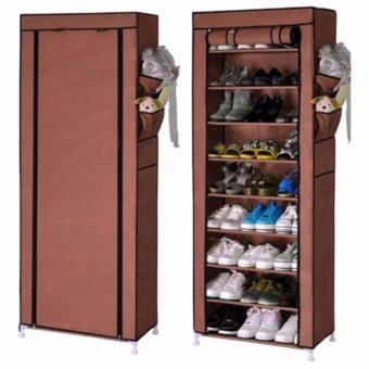 SHXT-609 Shoe Cabinet Shoe Rack (Coffee) Price Philippines