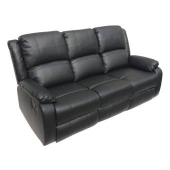 Sigma RC-8821-7 3-Seater Home Cinema Recliner (Black)