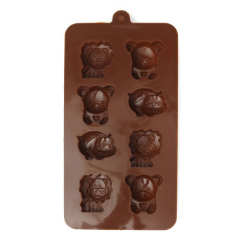 Silicone Animal Shape Cake Chocolate Soap Cube Candy Cookie Mold Baking Mould - Intl Price Philippines