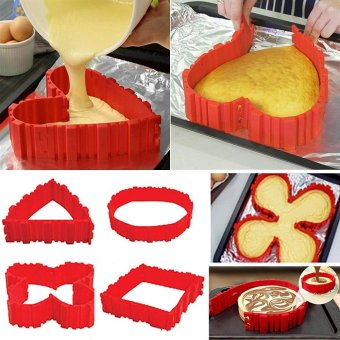Silicone Cake Mold Cake Pan Magic Bake Snake DIY Baking Mould Tools - intl