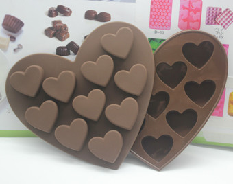 Silicone Heart-shaped Cake Mould