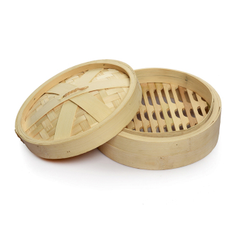 Size bamboo made Xiaolongbao commercial steamer