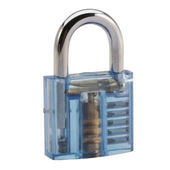 Skill Training Lock + 10-Piece Lockpick Tool Set - Black +Multicolor - intl - 3