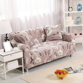Slipcover 3 Seat Stretch Sofa Couch Cover Loveseat Chair Seat CoverHome Decor 190-230 cm #3 - intl