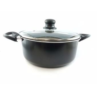Slique 25pcs Aluminum Kitchen Sets (Black) - 2