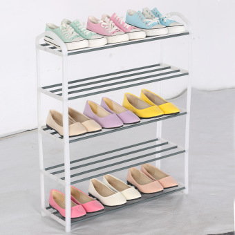 Slique Shoe Rack - White - 2