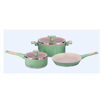 Slique SLQ-O116AK-S5-GN 5-piece Cookware (Green)