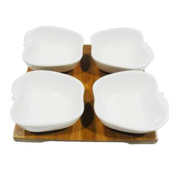 Slique YS0055 4pc Condiments Set