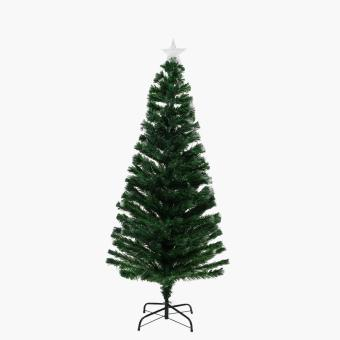 SM Home 6ft. Silver & Gold Light Up Christmas Tree