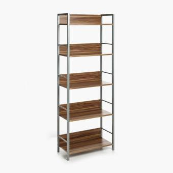 SM Home Andy Castle 5-tier Shelf Rack (French Walnut) Price Philippines