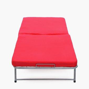 SM Home Carlotta Folding Bed (Red) - 2