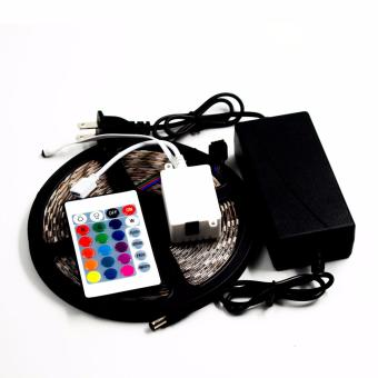 SMD 5050 RGB Waterproof 300 LED Strip Light with 44 Key Controller 12V - 2