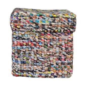 Smokey Fashion Square Box with Cover (Multicolor)