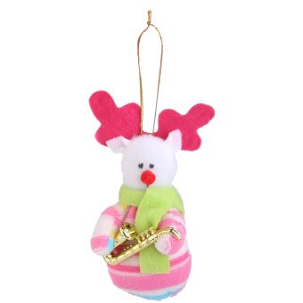 Snowman&Santa Claus&Deer Christmas Tree Decoration Xmas Hanging Ornament Set