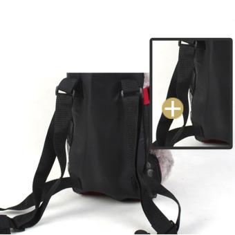 Soft Canvas Pet Dog Cat Carrier Bag Simply Front & Back Backpack - 2