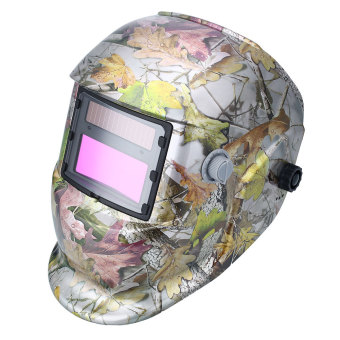 Solar Auto Darkening Welding Helmet Protection For Grinding Lens Tig Welder Mask (Intl)