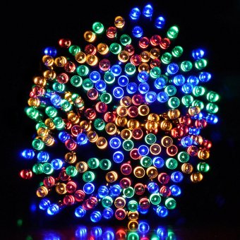 Solar Fairy String Lights for Outdoor, Gardens, Homes, Wedding,Christmas Light Decorative Waterproof 200led 72ft ( Multi-color )