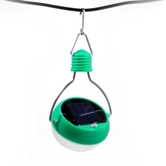 Solar Light Bulb (Green) - 2