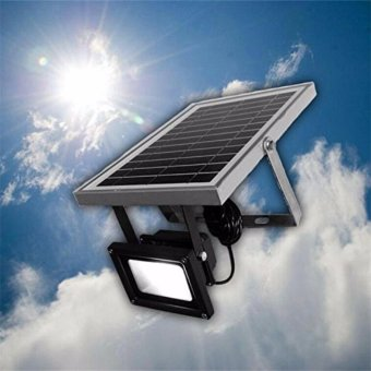 Solar Lights Solar Powered Floodlight Outdoor Garden Spotlight, IP65 Waterproof, 54LED 400Lumen for Patio, Deck, Yard, Walkway - intl - 2