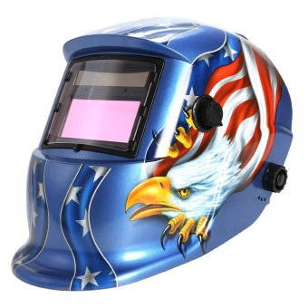 Solar Power Auto Darkening Welding Helmet Arc Tig Mig Professional Welder Mask - intl