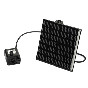 Solar Power Fountain Water Pump Panel Kit Pool Home Garden FishPond - Intl