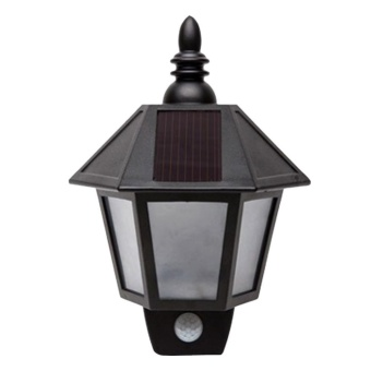 Solar Power Wall Mount LED Lamp Outdoor Landscape Light - intl