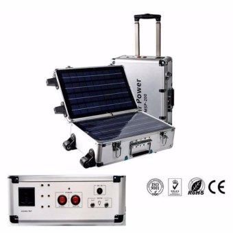 SOLAR STAR MPS-200 200W AC Portable Solar Power Generator CleanEnergy Price Philippines