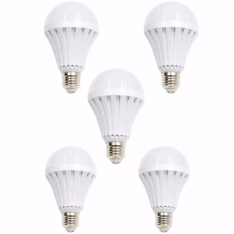 Sonic LED Emergency Rechargeable Bulb 12 Watts Set of 5