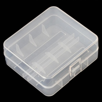 Soshine Portable Hard Plastic Case Holder Storage Box for 2 x 26650Batteries - intl