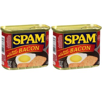 Spam with Bacon Set of 2
