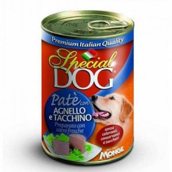 Special Dog Pate Lamb & Turkey Dog Food 400g Set Of 3 Cans