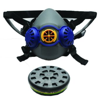 Spiderking Single Respirator - CHEMICAL (Black/Blue)