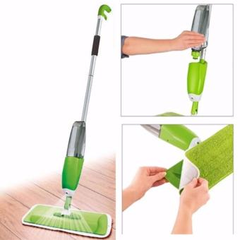 Spray Mop with Microfiber Mop Set Floor Cleaning