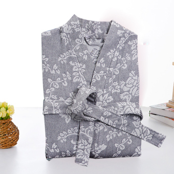 St. Cotton Female Summer men bathrobe