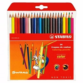 STABILO Colored Pencil 24S in Wallet