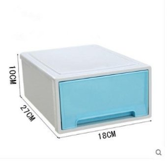 Stackable Drawer Type Transparent Plastic Storage CabinetChildren's Clothing Storage Box Toy Lockers Finishing Cabinet ShoesCabinet
