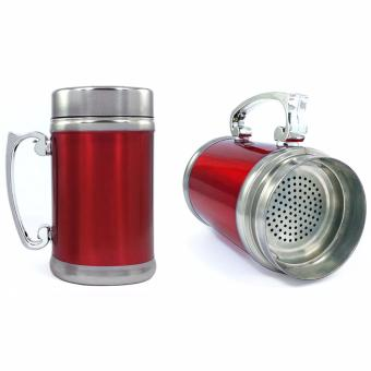 Stainless Steel Cup Coffee Mug Tea Mug Chocolate Drink Mug WithStrainer