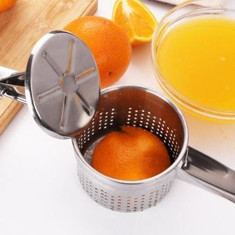 Stainless Steel Kitchen Tools Potato Masher Ricer Puree GarlicPresser Vegetable Fruit Press Maker Gadget Kitchen Accessories -intl - 2