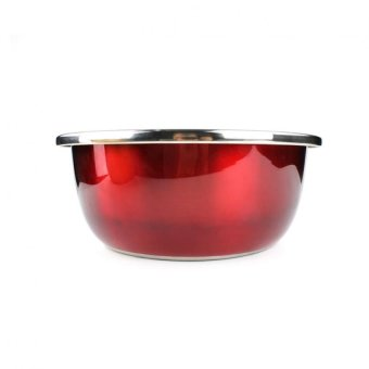 Stainless Steel Multi Colored Mixing Bowl Set of 3 Pcs - 2