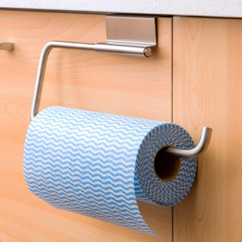 Stainless Steel Roll Tissue Kitchen Paper Holder Towel Holder - Intl