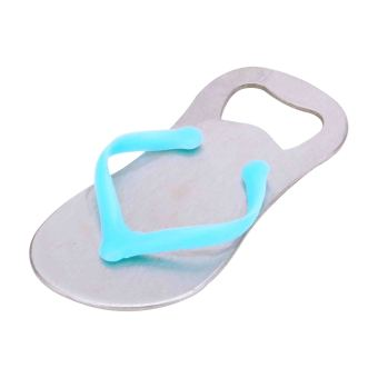 Stainless steel slippers bottle opener