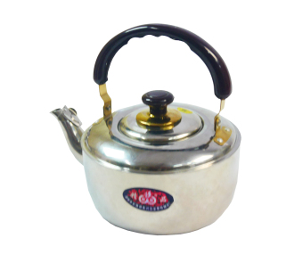 Stainless whistling Kettle with tea strainer 07341